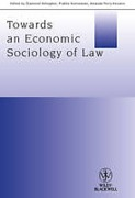 Cover of Towards an Economic Sociology of Law