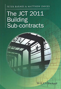 Cover of The JCT 2011 Building Sub-contracts