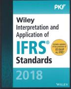 Cover of Wiley Interpretation and Application of IFRS Standards 2018