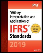 Cover of Wiley Interpretation and Application of IFRS Standards 2019