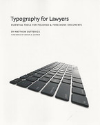 Cover of Typography for Lawyers: Essential Tools for Polished and Persuasive Documents