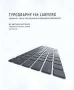 Cover of Typography for Lawyers: Essential Tools for Polished & Persuasive Documents