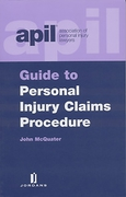 Cover of APIL Guide to Personal Injury Claims Procedures