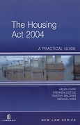 Cover of The Housing Act 2004: A Practical Guide