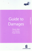 Cover of APIL Guide to Damages