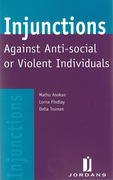 Cover of Injunction Against Anti-Social or Violent Individuals