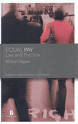 Cover of Equal Pay: Law and Practice