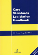 Cover of Care Standards Legislation Handbook