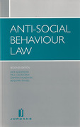 Cover of Anti-Social Behaviour Law