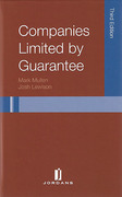 Cover of Companies Limited by Guarantee