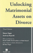 Cover of Unlocking Matrimonial Assets on Divorce