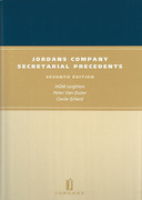 Cover of Jordans Company Secretarial Precedents