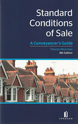 Cover of Standard Conditions of Sale: A Conveyancer's Guide