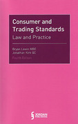 Cover of Consumer and Trading Standards: Law and Practice