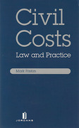 Cover of Civil Costs: Law and Practice