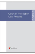 Cover of Court of Protection Law Reports