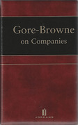 Cover of Gore-Browne on Companies Looseleaf