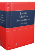 Cover of Jordan Publishing Charities Administration Service Looseleaf