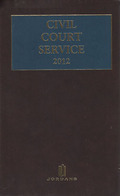 Cover of Civil Court Service (The Brown Book) 2013 Subscription
