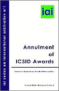 Cover of Annulment of ICSID Awards