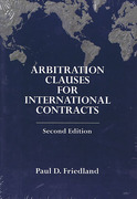 Cover of Arbitration Clauses for International Contracts
