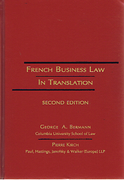 Cover of French Business Law in Translation