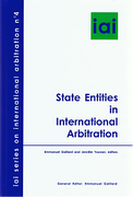Cover of State Entities in International Arbitration