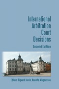 Cover of International Arbitration Court Decisions