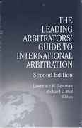 Cover of The Leading Arbitrators' Guide to International Arbitration