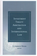 Cover of Investment Treaty Arbitration and International Law Volume 1
