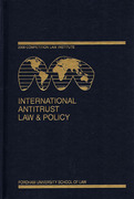 Cover of International Antitrust Law & Policy: Fordham Competition Law 2008