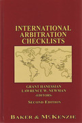 Cover of International Arbitration Checklists