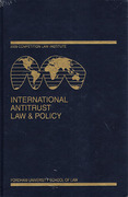 Cover of International Antitrust Law & Policy: Fordham Competition Law 2009