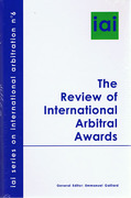 Cover of The Review of International Arbitral Awards