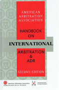 Cover of AAA Handbook on International Arbitration and ADR