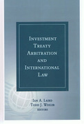 Cover of Investment Treaty Arbitration and International Law Volume 3