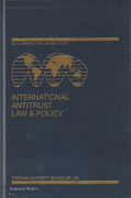 Cover of International Antitrust Law & Policy: Fordham Competition Law 2010