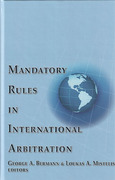 Cover of Mandatory Rules in International Arbitration