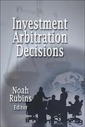 Cover of Investment Arbitration Decisions