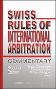 Cover of Swiss Rules of International Arbitration: Commentary
