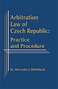 Cover of Arbitration Law of Czech Republic: Practice and Procedure
