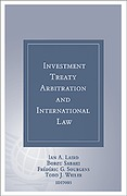 Cover of Investment Treaty Arbitration and International Law Volume 6