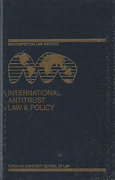 Cover of International Antitrust Law & Policy: Fordham Competition Law 2013