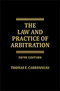 Cover of The Law and Practice of Arbitration