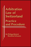 Cover of Arbitration Law of Switzerland: Practice & Procedure