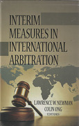 Cover of Interim Measures in International Arbitration
