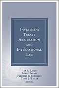 Cover of Investment Treaty Arbitration and International Law Volume 7