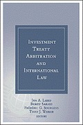 Cover of Investment Treaty Arbitration and International Law: Volume 8