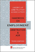 Cover of AAA Handbook on Employment Arbitration and ADR