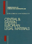 Cover of Central and Eastern European Legal Materials Looseleaf